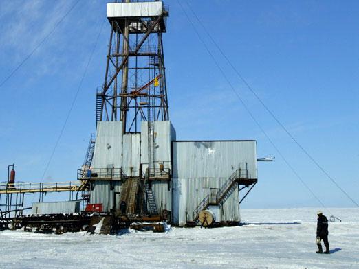petroleo en el artico
